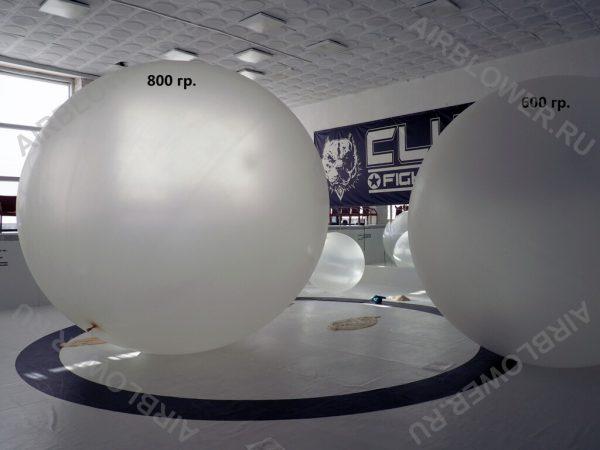 Метеозонд - шар из натурального латекса диаметром 3,6 - 4,1 м.