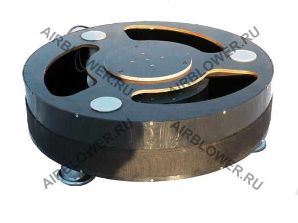 AB-150-ФП46-С27 быстрое крепление надувной фигуры к корпусу вентилятора липучкой