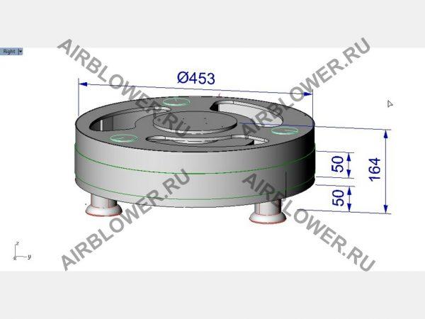 Чертёж 3D вентилятора для аэромена 2-4м своими руками