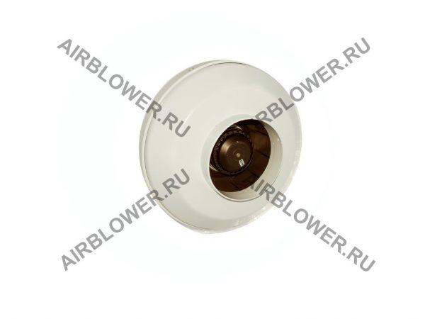 Вентилятор канальный ВК 160 вид со стороны входа воздуха