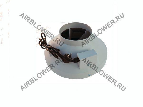 Круглый канальный вентилятор ВК 160 ЕС с вилкой