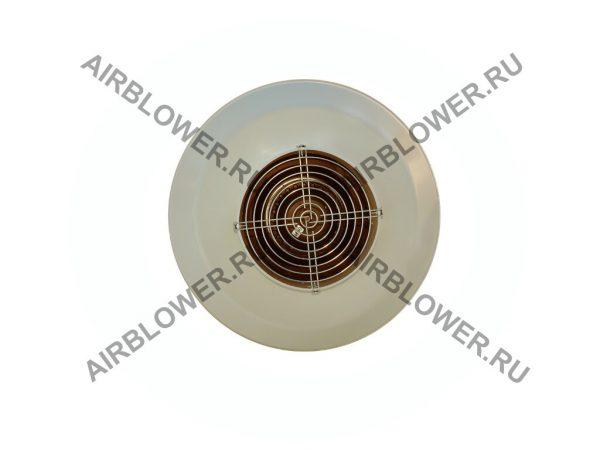 Вентилятор канальный ВК 160 ЕС вид со стороны входа воздуха