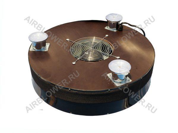 Подставка вентилятор АВ-150-ФП46 в комплекте с кабелем, решёткой и ножками.