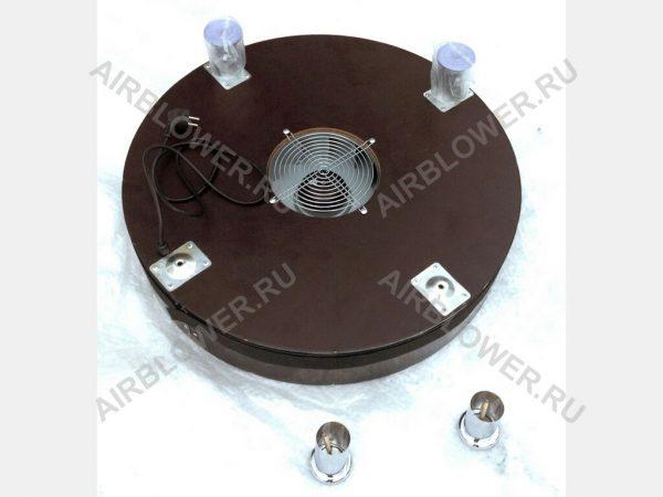 Вентилятор диаметром 69 см для аэромена высотой до 6м со съёмными ножками в комплекте.