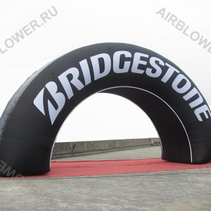 Надувная арка шина 12м