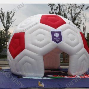 Шатёр надувной футбольный мяч 6м