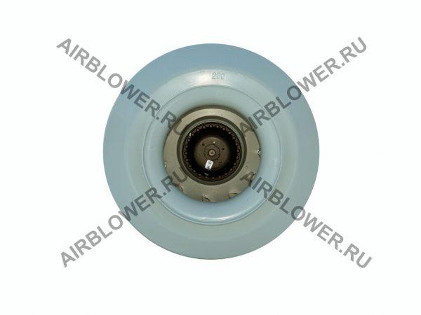 Вентилятор канальный ВК 200 вид со стороны входа воздуха