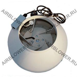 Вентилятор канальный круглый ВК 200 ЕС с конденсатором