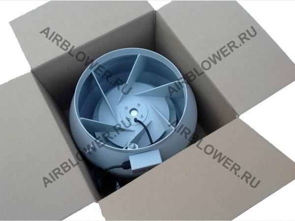 ВК 315 ЕС вентилятор канальный в упаковке