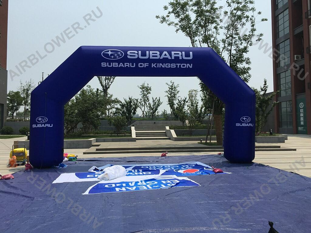 Арка надувная Subaru 10м