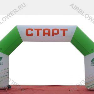 Арка надувная 8 м СТАРТ