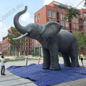 Слон реалистичная надувная фигура