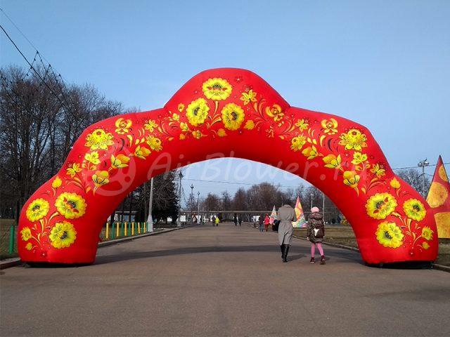 Надувная арка праздничная декоративная
