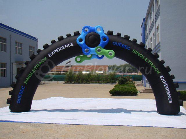 Арка надувная велосипедное колесо