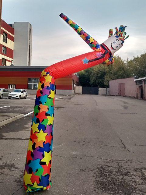 Аэромен Звёздочка, высотой 4 метра.